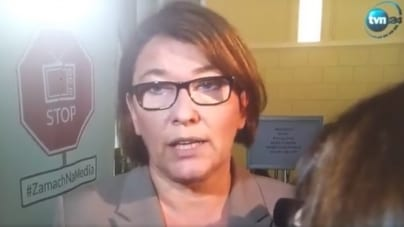 """Rzeczniczka PiS komentuje incydent w Radomiu: """"Rozumiem ich"""" [WIDEO]"""
