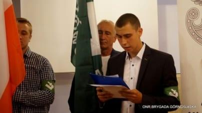 Zjazd Brygady Górnośląskiej ONR [VIDEO]