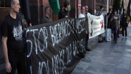 Wolność dla Janusza Walusia — demonstracja pod Ministerstwem Spraw Zagranicznych [WIDEO]