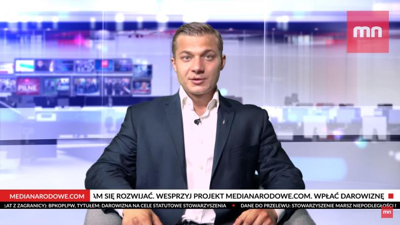 Dość obłudy! Rzecznik Młodzieży Wszechpolskiej obnaża hipokryzję KODu [WIDEO]