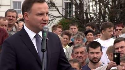 """Andrzej Duda wywołał wściekłość PiS-owców. Oskarżył Macierewicza o… """"ubeckie metody"""" [WIDEO]"""