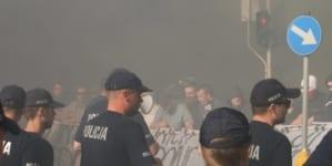 Białystok: Młodzież Wszechpolska pomaga osobom, które brały udział w kontrze do marszu LGBT