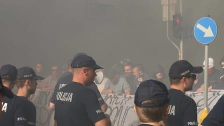 Blokada parady równości w Warszawie [WIDEO]