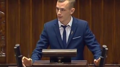 Wspaniałe wystąpienie Franciszka Kowalczyka z Młodzieży Wszechpolskiej w Sejmie