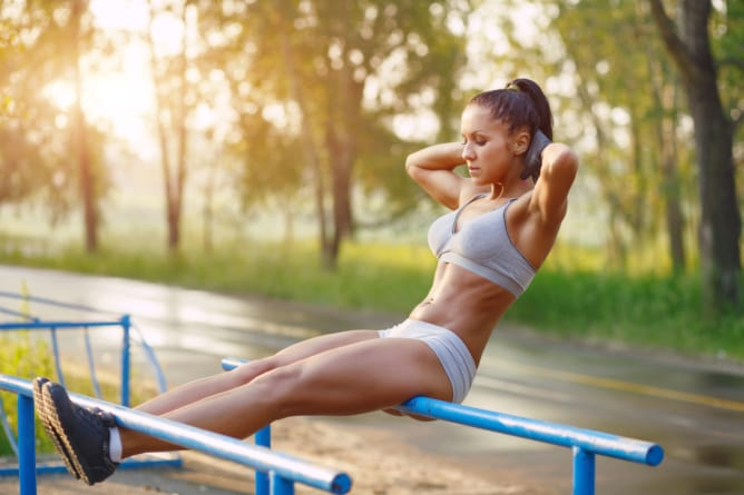 Piękno i siła – kalistenika/street workout