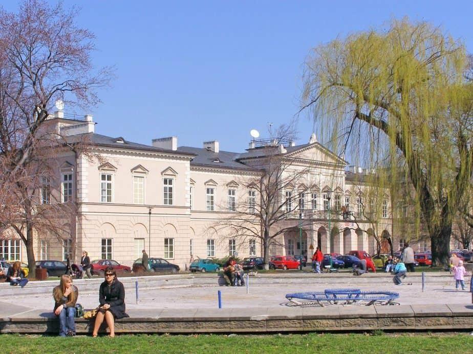 Plac Litewski w Lublinie.