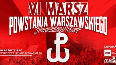 VI Marsz Powstania Warszawskiego już wkrótce! Wesprzyj organizację wydarzenia
