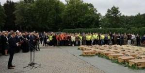 """IPN. Efekt ekshumacji na """"Łączce"""". Trwa wyprowadzenie szczątków ofiar komunizmu"""