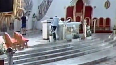 W Starachowicach znieważono Najświętszy Sakrament! Alkoholowy wybryk przy ołtarzu
