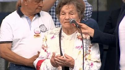 Mocne wystąpienie uczestniczki Powstania Warszawskiego: Pozwólcie nam spokojnie odchodzić, walczyliśmy o wolność i godność!