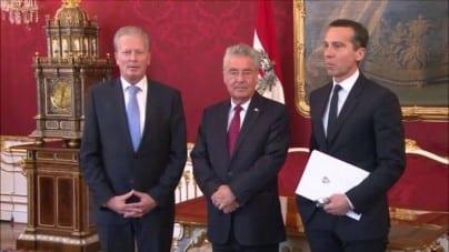 Kanclerz Austrii grozi Polsce i Węgrom