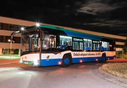 Nowy Solaris Urbino 12 w Monachium, fot. Solaris