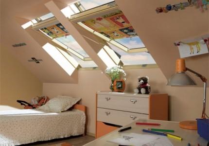 Okna dachowe obrotowe, fot. Fakro