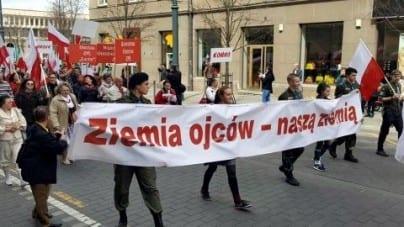 Wilno: Polacy przemaszerują przez miasto, aby uczcić Konstytucję 3 maja