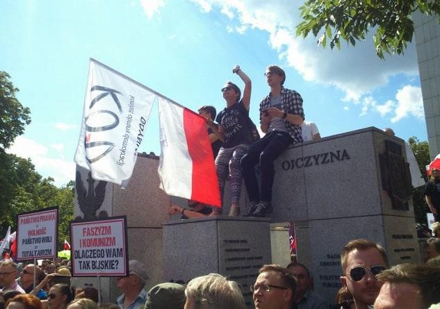 """KOD nie daje o sobie zapomnieć: """"Porównywanie krakowskich sędziów do grupy przestępczej to największe przestępstwo"""""""