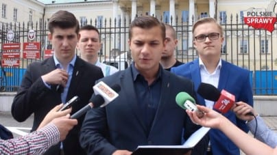 Młodzież Wszechpolska będzie manifestowała przeciw dyskryminacji Polaków na Litwie [WIDEO]
