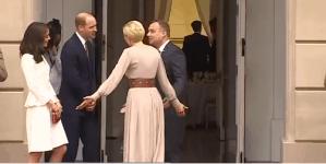 Księżna Kate i książe William już w Polsce