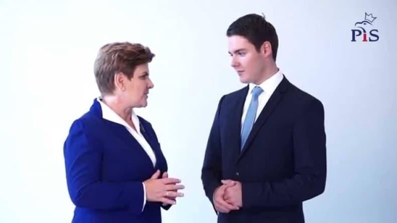 Najmłodszy poseł sprzeciwił się Kaczyńskiemu [WIDEO]
