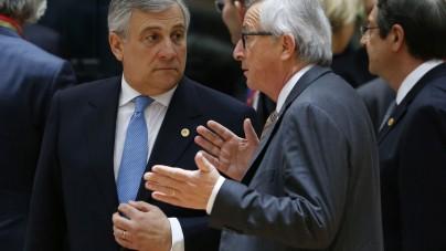 Juncker pijany podczas szczytu NATO w Brukseli [WIDEO]