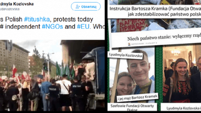 Ukrainka obraża narodowców protestujących przeciw obcym wpływom w Polsce!