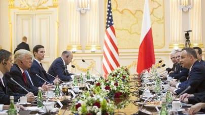 Szczyt trójmorza w Warszawie