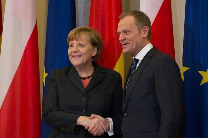 Tusk chciał interweniować w Polsce jako organ unijny. Duda szybko się z nim rozprawił