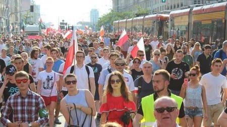 VI Marsz Powstania Warszawskiego – Warszawa, 1.08.2017 [WIDEO]