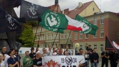 Bydgoszcz: Marsz przeciwko imigrantom i polityce Bruskiego