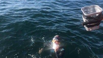 100 km wpław przez morze Bałtyckie! Polak przepłynął z Kołobrzegu na wyspę Bornholm