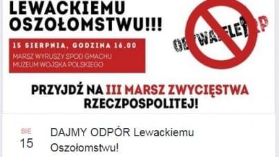 """""""Dajmy odpór lewackiemu oszołomstwu"""" – akcja Młodzieży Wszechpolskiej"""