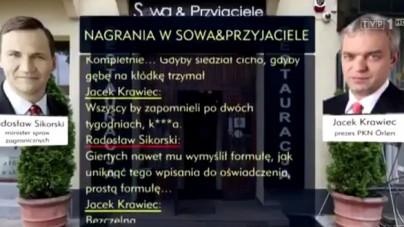 """TVP publikuje kolejny fragment taśm. Tym razem dotyczą Romana Giertycha. """"Miał mu radzić, jak obejść przepisy"""""""