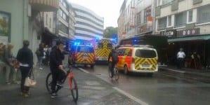 Atak nożownika we Frankfurcie. Policja ujęła już napastnika