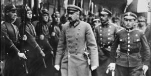Gdzie marszałek Pisłudski wysiadł z tramwaju?