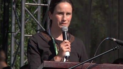 Mary Wagner dziękuje Polakom za zaangażowanie się w jej sprawę i obronę dzieci