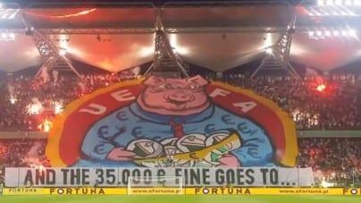 Legia Warszawa kolejny raz szykanowana przez UEFA