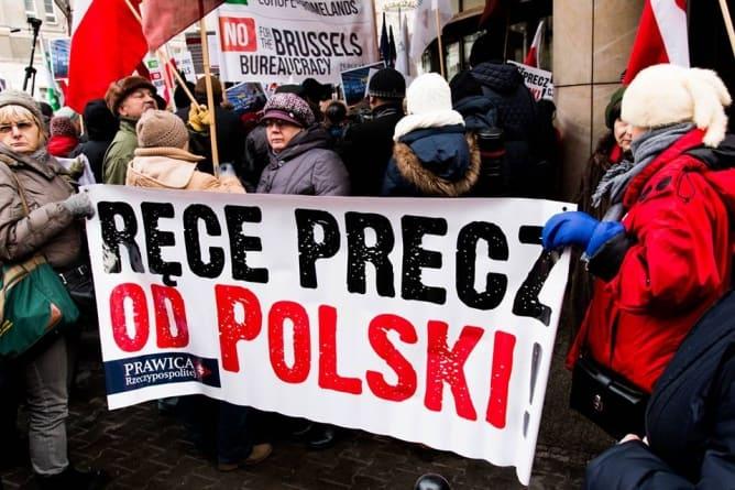 W środę protest przeciw ingerencji UE w wewnętrzne sprawy Polski