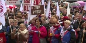 Znowu rusza strajk nauczycieli. Początek 15 października