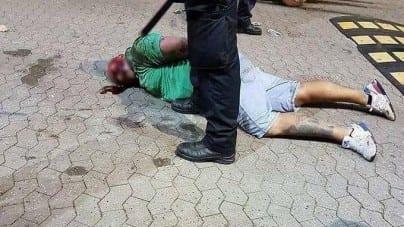 Angielscy kibice zdemolowali Pragę i zostali zatrzymani przez policję