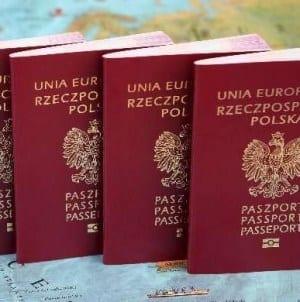 """Można wymienić paszport – na wizerunku m.in. Roman Dmowski oraz hasło """"Bóg, Honor, Ojczyzna"""""""