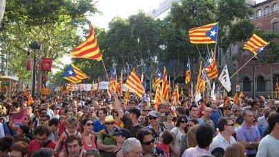 Hiszpańska policja zrobiła nalot na budynki administracji Katalonii! [WIDEO]