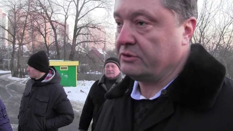 Poroszenko straszy pociskiem rakietowym: Ukraina odbudowuje swój potencjał