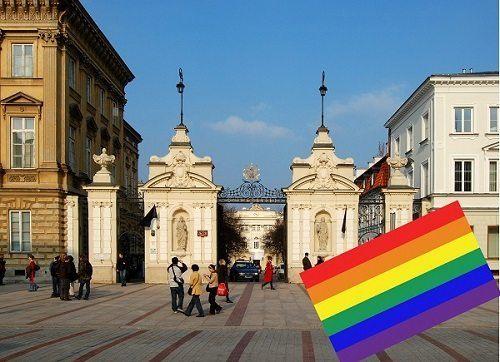 Uniwersytet Warszawski po stronie skrajnej lewicy i lobby LGBT?