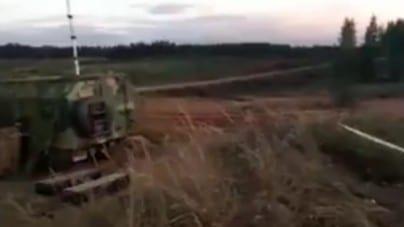 Kolejne nagranie po ostrzale rosyjskiego helikoptera! Widać skutki eksplozji [WIDEO]