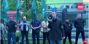 Nie będzie Niemiec pluł nam w twarz – pikieta pod ambasadą Niemiec w Warszawie [WIDEO]