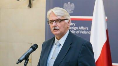 Zaskakujące stanowisko Waszczykowskiego. Pomysł Tuska jest również polityką… polskiego rządu