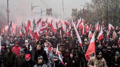 """Episkopat spotkał się z Marszem Niepodległości: """"Ich przekaz to patriotyzm i wartości"""""""