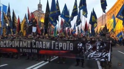 Ulicami ukraińskich miast przeszły marsze ku czci UPA