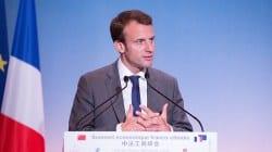Macron wyraża solidarność z katolikami