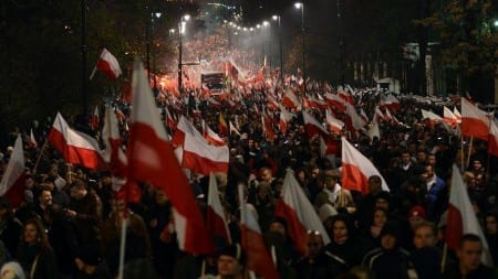 """Znany bard zwrócił uwagę ne pewien szczegół w haśle tegorocznego Marszu Niepodległości. """"Trafione w dziesiątkę"""""""