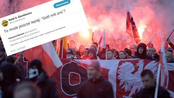 Hasło Marszu Niepodległości pod ostrzałem antyklerykałów i… Rafała Ziemkiewicza